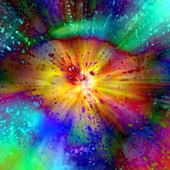 Big Bang, conceptual illustration