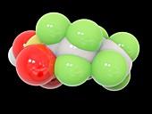 Perfluorobutanesulfonic acid molecule