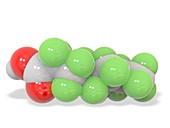 Perfluorooctanoic acid molecule