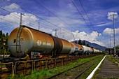 Tanker train
