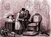 English Lord, 1830s satire