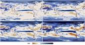 21st century precipitation change models