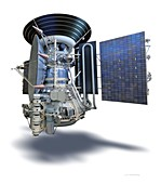 Mars 3 spacecraft, illustration