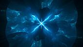 Antimatter, conceptual illustration