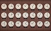 Clocks, illustration