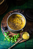 Sambar (lentil and tamarind sauce, India)