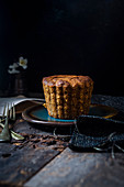 Lime and honey cake
