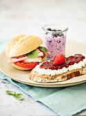 Nährstoffadaptiertes Frühstück für Dialysepatienten