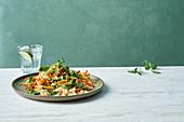 Bulgur and vegetable salad