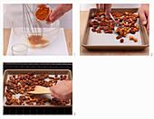 Homemade spiced nut mixture