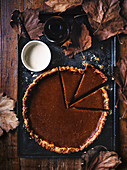 Smoked pumpkin pie