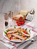 Low-Carb-Parmesanschnitzel vom Schwein