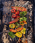 Legumes grillees barbecue