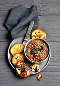 Olive paste with tomatoes and capers