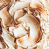 Toasted meringue