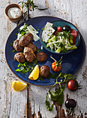 Keftedes - Greek minced meat balls