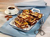 Kürbis-Brownies mit Pekannüssen