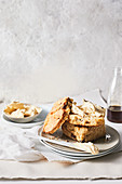 Giant date and ginger scones