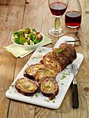 Plätzlibraten mit Fleischbrät-Raclette-Füllung