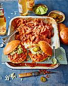 Sloppy Joe mit Pulled Pork und Chipotle