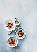 Overnight Chia mit Aprikosen und Samen
