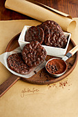 Fast chocolate cookies (gluten-free)