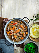All-in-one lamb and Guinness stew