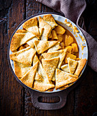 Ananas-Gewürz-Pie mit Rum
