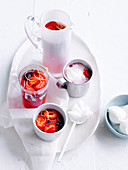 Strawberry and lemonade salad