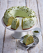 Pistachio fancy bread