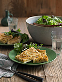 Onion pie with thyme