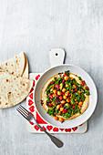 Hummus Bowl mit Chorizo