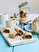 Sticky Toffee Fig Rolls