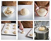 Einfache Bagels backen
