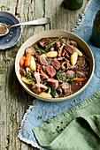 Austrian chamois stew