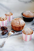 Date muffins (sugar-free)