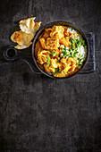 Chicken and cauliflower korma curry
