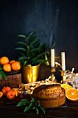 Christmas orange cake