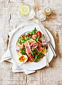 Fresh tuna Nicoise salad