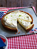 American key lime tart