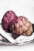 Italian violet artichokes