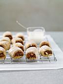 Iced fig rolls