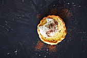 Pudding-Tortelett mit Baileys