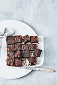 Easy mars bar brownies