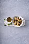 Sizilianischer Auberginensalat