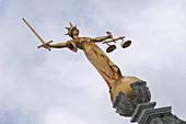 Lady Justice, Central Criminal Court, London, UK