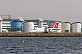 London City Airport, London, UK