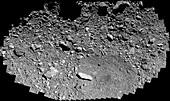 Bennu backup sample collection site, OSIRIS-REx image