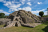 Mayan pyramid, Acanceh, Mexico