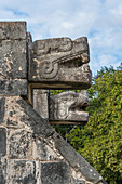 Platform of the Eagles and Jaguars, Chichen Itza, Mexico